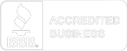 A small, low opacity, Better Business Bureau icon